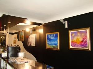 """Personale di pittura di Anna Haifullina presso ''Caffè Caprioli"""",Piazza Caprioli 9, Vasto"""